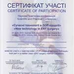 Certyfikat z koblacji - lek. Marcin Kubiak