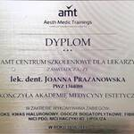 lek. dent. Joanna Prażanowska Aesth Medic Trainings